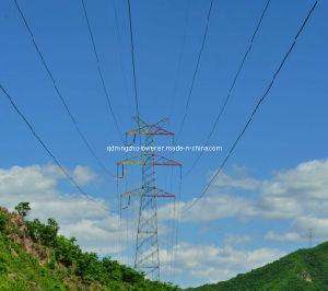 110kv Angle Transmission Steel Tower on Sale
