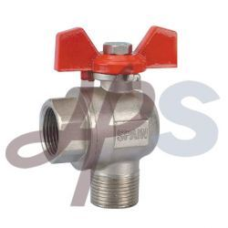 Brass Gas Ball Valve with Butterfly Handle (HB27C) pictures & photos
