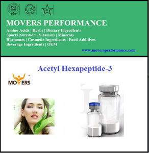 High Quality Cosmetic Peptide Acetyl Hexapeptide-3 pictures & photos