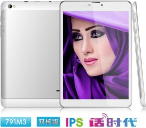7.85inch Mini Pad Phone Tablet IPS Screen Dual Core Mtk8312 GPS Bt FM Android Tablet PC