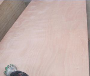 E1 Grade Commerail Plywood with Red Hardwood Face pictures & photos