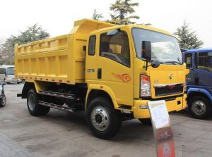 Sinotruk New Huanghe 4X2 10ton Dump Truck pictures & photos