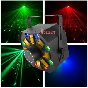 Laser + Strobe + LED 3in1 DJ Lighting for Disco Event Party pictures & photos