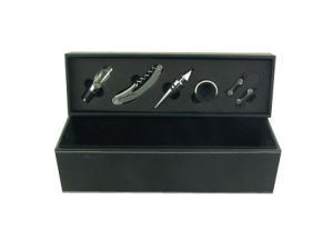 Leather Wine Box with Wine Set (YL8102G-1)