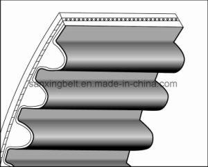 Rubber Synchronous Belt Timing Belt for Automotive Engines Auto Cooling Fan Oil Pump Belt pictures & photos