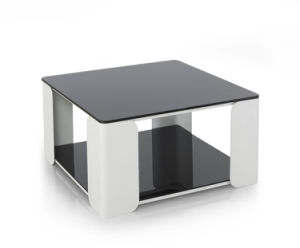 Square Glass Tempered Coffee Table (CT121) pictures & photos