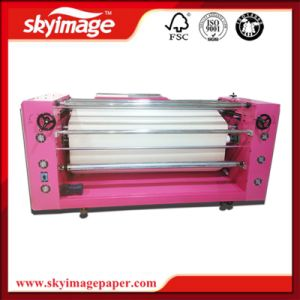 420mm*1.2m Size Oil Press Roller Drum Heat Transfer Machine pictures & photos