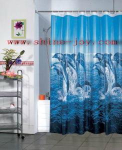 Vinyl Shower Curtain in Walmart Supermarket pictures & photos
