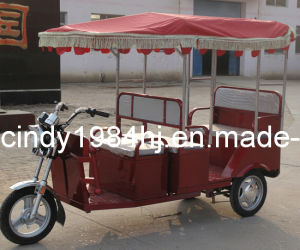 Electric Rickawshaw / Electric Tricycle /Passenger Electric Richshaw for Indian Market (HJ-TRI8)