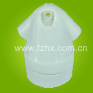 Porcelain Lampholder with White Color (H2-1)
