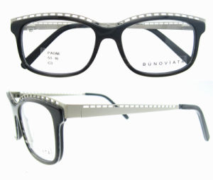 2016 New Arrival Hot Sale Acetate Plastic Optical Eyeglasses pictures & photos