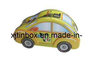 Lunch Box Tin Lunch Dome Boxes Lunch Tin Box with Handle, Tin Lunch Box, Metal Lunch Box (XJ-032E)