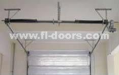 Low Headroom Garage Door - CE Approved