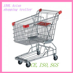 150L Asian Style Store Shopping Cart