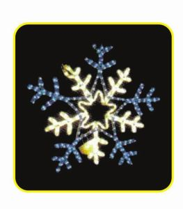 Motif Light 5meter snow flake pictures & photos