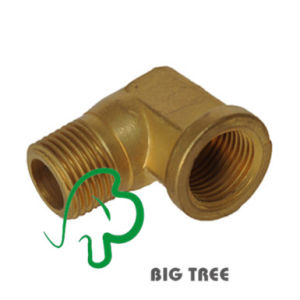 Brass Elbow Connector/Fitting Male to Female Thread pictures & photos