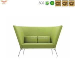 Modern Green Stainless Steel Frame Leisure Sofa-Hls-038 pictures & photos