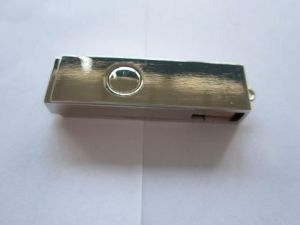 Cheap Metal USB Flash Drive with Laser Engraving Logo (OM-M106) pictures & photos