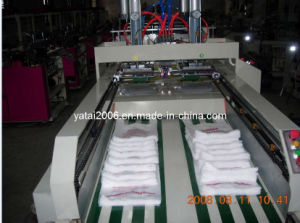 Automatic Double Line T-Shirt Bag Making Machine (ZDFR-400*2) pictures & photos