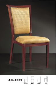 Canton Fair Stacking Wooden Design Fabric Banqquet Chair in Hotel\Wooden Furniture (AC-1009)