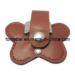 Hot Selling New Design Luxury Leather USB, Best Promotion Gift High Quality Real Leather USB Flash Drive pictures & photos