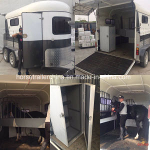 Comfortable Travel Horse Trailer/Horse Float Angel Load From China pictures & photos