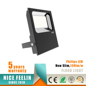 IP65 Waterproof 100W Ultra Thin LED Floodlight with Philips Driver pictures & photos