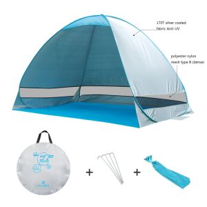 Outdoor Automatic Pop up Instant Portable Cabana Beach Tent 2-3 Person Camping Fishing Hiking Picnicing Anti UV Beach Tent Beach Shelter, Sets up in Seconds pictures & photos
