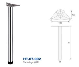 Iron Table Legs with D60/80mm, Height 710/820/870/1100mm pictures & photos