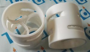 PTFE Plastic Pall Ring 38mm X 2mm X 38mm pictures & photos