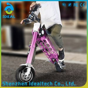 Customizd 10 Inch Portable Motor Foldable Electric Scooter pictures & photos