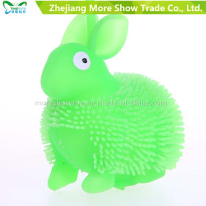 Novelty Colorful Puffer Yoyo Rabbit Toys Light up Ball pictures & photos