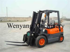 2000kg Gasoline/LGP Forklift Truck pictures & photos