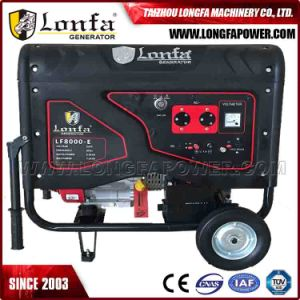 15HP 7.5 kVA Silent Gasoline Generator (Semi-closed silent, electric start) pictures & photos