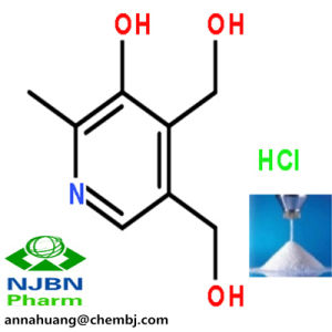 Buy Vitamin Powder Vitamin B6 Hydrochloride (99.0%~101.0%) |58-56-0 From Anna