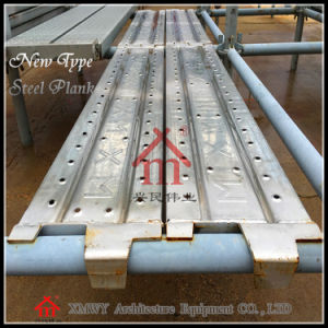 Q235 Plank with Hooks / Skid Resistance Steel Construction Planks pictures & photos