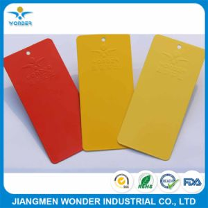 Interior Decorative Red Yellow Wrinkle Texture Powder Coating Paint pictures & photos