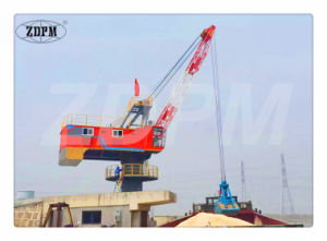 Wire Rope Luffing Fixed Boom Portal Crane