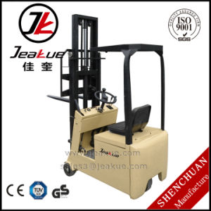 Cheap 500kg Three Wheels Electric Forklift pictures & photos