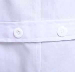 New Mens Womens White Scrub Medical Lab Coat (A601) pictures & photos