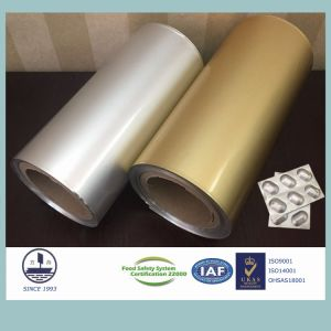 Cold-Stamping Molding Aluminum Foil for Pharmaceutical Packaging Granules (Alloy 8021) pictures & photos