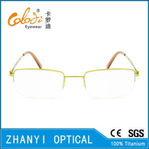 Simple Beta Titanium Eyewear Eyeglass Optical Glasses Frame (8505) pictures & photos