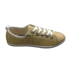 Fashion Lady Casual Comfort Flat Shoes pictures & photos