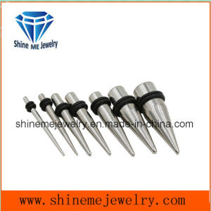 316L Stainless Steel Earplug Taper (SPG1838) pictures & photos