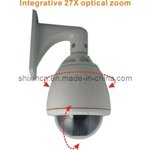 800tvl 27X Optical Zoom Outdoor Dome PTZ IP Camera (IP-320H) pictures & photos