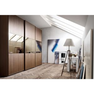 Modern Design 3 Sliding Doors Melamine Wardrobe for Home Furniture pictures & photos