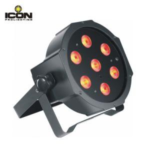 18X3w RGB LED Mega Slim Flat PAR Light pictures & photos