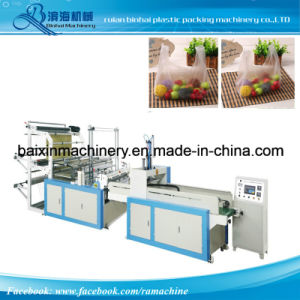 High Speed Shopping Bag and T Shirt Bag Making Machine pictures & photos