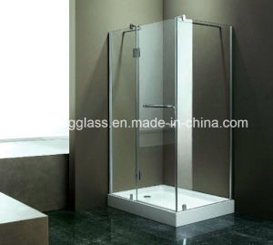 6mm Flat Toughened Frameless Glass Shower Door pictures & photos