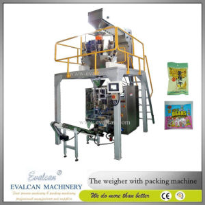 Automatic Vertical Mini Chips, Pet Snacks, Food, Nuts, Crisps, Granule Packaging Machine pictures & photos